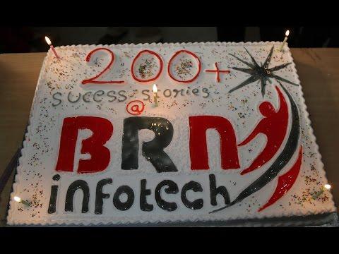 200 PLACEMENTS CELEBRATIONS @ BRN INFOTECH