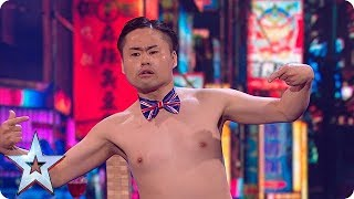 Video Brace yourselves - Mr Uekusa's act is about to get even more BONKERS! | Semi-Finals | BGT 2018 MP3, 3GP, MP4, WEBM, AVI, FLV September 2018