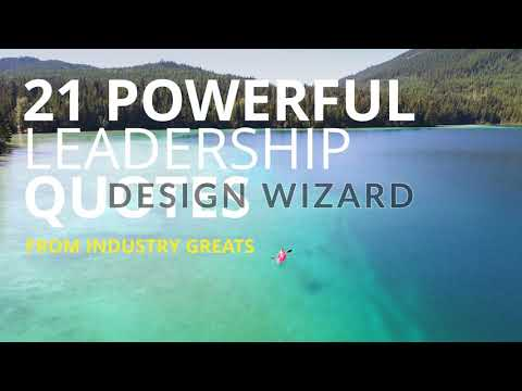 Powerful leadership quotes facebook cover video