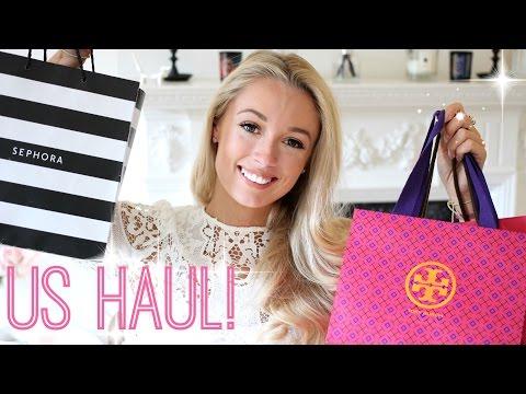 US Haul! Fashion & Beauty  |   Sephora, Kate Spade, Club Monaco & MORE!