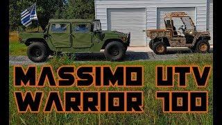 2. Massimo Warrior 700 UTV - Customer Review