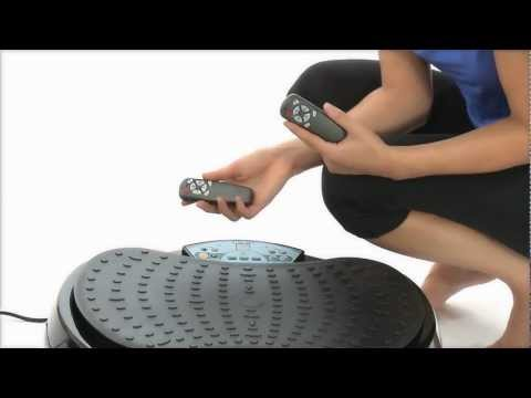 GYM MASTER COMPACT CRAZY FIT VIBRATION PLATE
