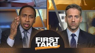 Stephen A. Smith sad over Carmelo Anthony: I cannot believe what I am seeing | First Take | ESPN