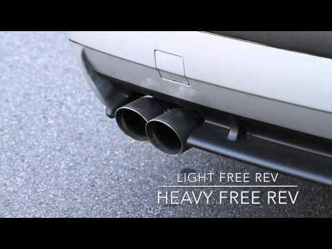 BimmerWorld E36 Cat-Back Exhaust by Magnaflow M3 328i 325i Rev Acceleration (видео)