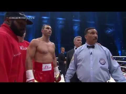Кличко - Фјури цела борба