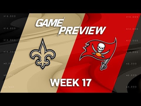 Video: New Orleans Saints vs. Tampa Bay Buccaneers | NFL Week 17 Game Preview | NFL Playbook