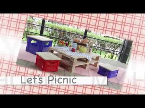Let's picnic มาทำที่นั่งปิกนิกในสวนกันเถอะ