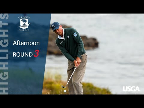 2019 U.S. Open, Round 3: Afternoon Highlights