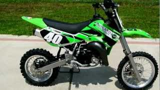4. 2009 Kawasaki KX65 Youth Motorcross Bike!