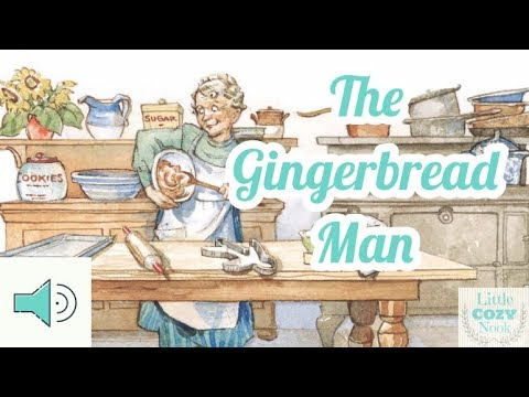 The Gingerbread Man - Fairytales and Stories for Children READ ALOUD