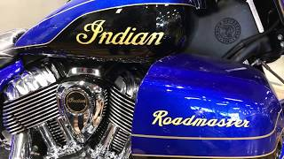 6. Introducing the 2018 Indian Roadmaster Elite