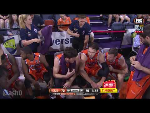 FINAL 4 SECONDS - CAIRNS TAIPANS v NEW ZEALAND BREAKERS