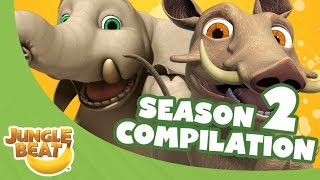 Video Jungle Beat Season Two Compilation [Full Episodes] MP3, 3GP, MP4, WEBM, AVI, FLV September 2018