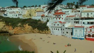 Carvoeiro Portugal  City pictures : PORTUGAL: carvoeiro & algar seco (Algarve) (HD-video)