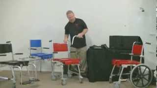 Maker of the GO-Anywhere Chair portable commode/shower chair line.