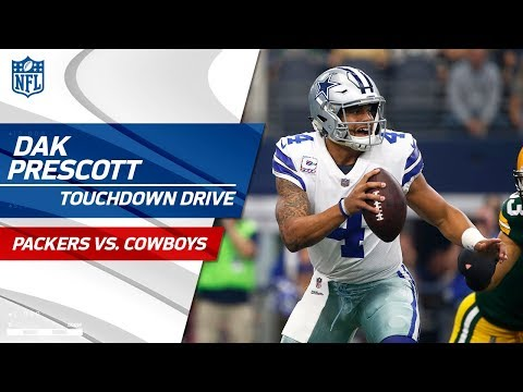 Video: Dak Prescott Makes Big Plays on Opening TD Drive!   Packers vs. Cowboys   NFL Wk 5 Highlights