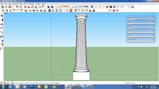 Video tutorial column classic with sketchup MP3, 3GP, MP4, WEBM, AVI, FLV Desember 2017