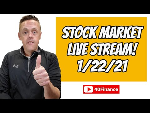 Stock Market Live Stream | News and Q&A for January 22, 2021