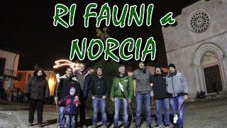 Timelapse dell'accensione Ri Fauni di Santa Rita 2013 a Norcia