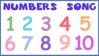 Numbers Song  Numbers For Kids  Number Learning For KidsEasy to learn entertaining kids educational videos and nursery rhymes songs animation with lyrics