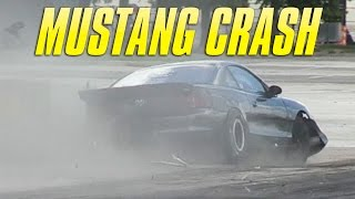 Mustang Crash - DigNight at NRG Stadium by High Tech Corvette