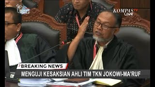 "Video Ketika Bambang Widjojanto Pertanyakan Kapasitas ""Sobat"" Ahli Tim TKN Jokowi-Ma'ruf di MK MP3, 3GP, MP4, WEBM, AVI, FLV Juli 2019"