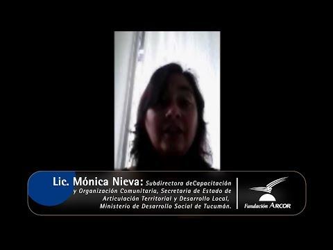 Interview with Monica Nieva under the training program