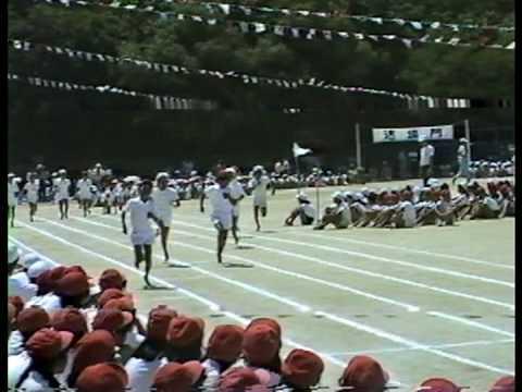 萩ヶ丘運動会 1989 平成元年 ローリングストーンズ。