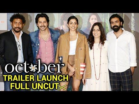 October Trailer Launch Event By Varun Dhawan, Bani