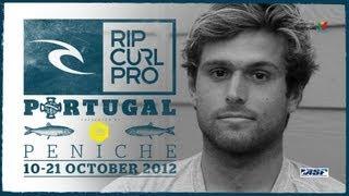 Wildcard Dillon Perillo: Rip Curl Pro Portugal 2012