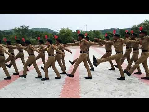 NCC drill of udala college udala Mayurbhanj 14th(O)BN