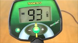 Металлоискатель Teknetics Eurotek. Часть 4 - Функционал и настройки