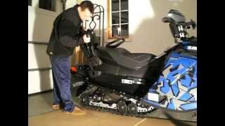6. 2012 Ski Doo 2 up seat install for REV XP XR XM snowmobile