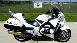 8. 2009 Honda ST1300 Police Bike Overview Review Walk Around