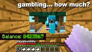 SKYBLOCK Gambling Shop... Here's how much we MADE..