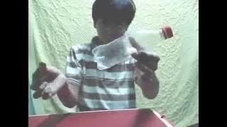 Hướng dẫn ảo thuật đồng xu xuyên chai nước