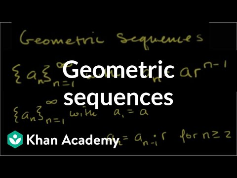 Intro To Geometric Sequences Advanced Video  Khan Academy
