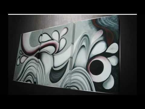 Oleos abstractos con relieve videos videos - Cuadros abstractos relieve ...