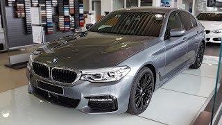 """Hello and welcome to BMW.view. In this video we review the interior and exterior of the 2017 BMW 530d Limousine. Produced in 4K. Facebook: https://www.facebook.com/pages/BMWview/860051290681663?ref=hlsubscribe -[BMW.view]- here: https://www.youtube.com/channel/UCuZoR8ZNgfPKBaPMPryyD1gMotor/engine: 195 KW/2293 ccmLackierung: Bluestone metallicPolster: Leder Dakota Schwarz Kontrastnaht Blau/SchwarzFelgen: 19"""" M LMR Doppelspeiche 664 MLicht: Adaptiver LED-ScheinwerferGrundpreis: 54.300 ,00 EURPakete: 12.400,00 EURSonderausstattung: 12.050,00 EURÜberführungskosten: 760,00 EURZulassung inkl. Wunschkennzeichen: 150,00 EURGesamtpreis = 79.660,00 EURPakete: M Sportpaket, Innovationspaket, BusinessPackage, Navigationspaket ConnectedDrive, Sonderausstattung"""