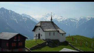 Bettmeralp Switzerland  City pictures : Bettmeralp Church Valais Switzerland
