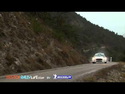 Evans testing - 2015 WRC Rallye Monte-Carlo - Best-of-RallyLive.com