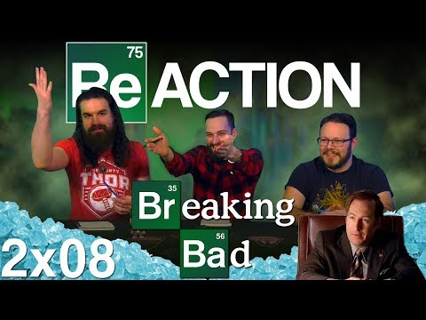 "Breaking Bad 2x8 REACTION!! ""Better Call Saul"""