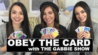 Video OBEY THE CARD CHALLENGE w/ The Gabbie Show - Merrell Twins - Quelf MP3, 3GP, MP4, WEBM, AVI, FLV Desember 2018