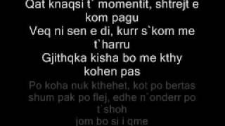 Depresioni Feat Dafina Dauti ' T'kom Zhgenjy' Teksti