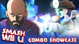 "New series I created called ""The Smash 4 Combo Showcase"" This week we're starting with Dr. Mario. He has some pretty crazy stuff! I'll answer questions about all of the setups in the comment section"
