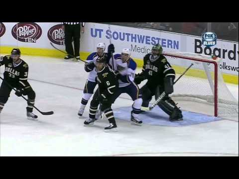 redden - Wade Redden goal 26 Jan 2013 St. Louis Blues vs Dallas Stars NHL Hockey. 05:31 STL W. REDDEN (1) SLAP - ASST: A. PIETRANGELO (4) AND V. SOBOTKA (2) 1 - 0 BLUES.