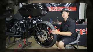 10. Bolt On Triple Trees For Harley Bagger 23 Inch Wheels | 2013 & Down