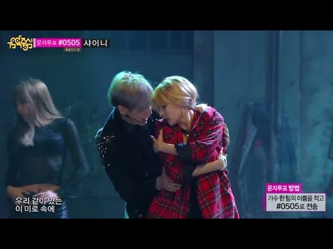 [Comeback Stage] Trouble Maker - Now, 트러블메이커 - 내일은 없어, Show Music core 20131102