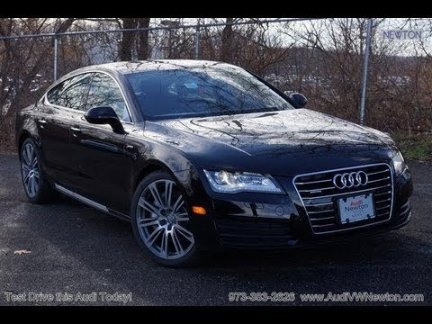 2013 Audi A7 3.0T Supercharged Vehicle Overview