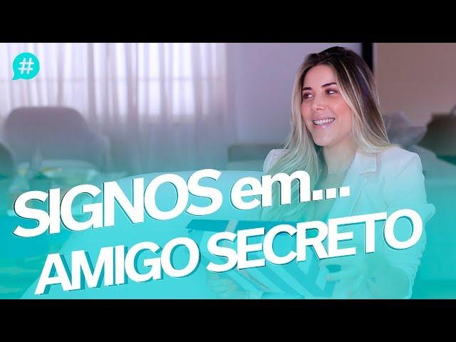 SIGNOS em... AMIGO SECRETO! - Mica Rocha - Mica Rocha